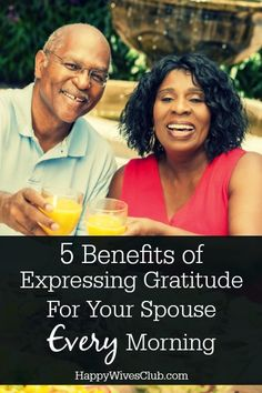 Gratitude for your spouse