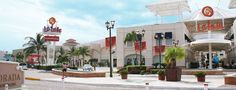 A beautiful mall that is conveniently close to almost all of the hotels and is great for shopping.