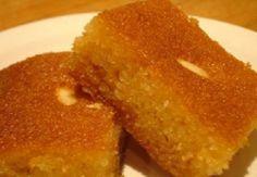 Τέτοιο σάμαλι δεν έχετε ξαναφάει! Greek Sweets, Greek Desserts, Greek Recipes, Sweets Recipes, Baking Recipes, Cake Recipes, Greek Cake, Cypriot Food, Low Calorie Cake