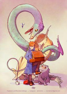 Newt & his Fantastic Beasts