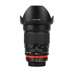 The Samyang lens is a manual focus lens and does not autofocus. The Samyang has been designed with great care for the smallest details and perfect style. This lens is a manual focus lens and does not autofocus (AF). Film Camera, Camera Lens, Ultra Wide Angle Lens, Canon Lens, Focal Length, Aperture, Photography Business, Drink Bottles, Digital Camera