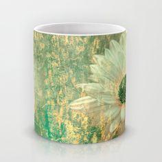 Abstract Daisy Mug by Loredana | Society6