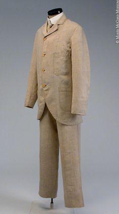Suit ca. 1885-1900 via Musee McCord Museum