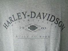 Harley Davidson Motor Cycles Mens XL Gray Shirt Tank Top Winchester Va #HarleyDavidsonMotor #Tank
