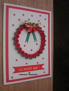 Atelier hirtie-quilling, felicitari -Monatibi. - Pagina 17 Quilling, Advent Calendar, Christmas Ornaments, Holiday Decor, Frame, Handmade, Home Decor, Atelier, Hand Made