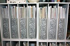Decorative Duct Tape to decorate with - Scrapbook.com Great site for craft room ideas.