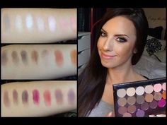 ▶ Morphe eyeshadow review with swatches and MAC comparisons - YouTube