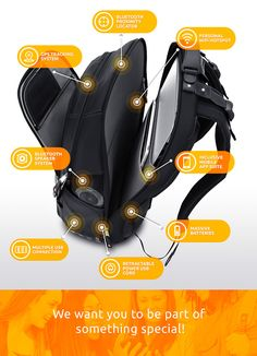 iBackPack Revolutionary Wearable Technology | Indiegogo