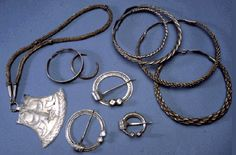Lämsä silver treasure, 'viking knit' trichinopoly chain (Need to find original source of photo for documentation.)