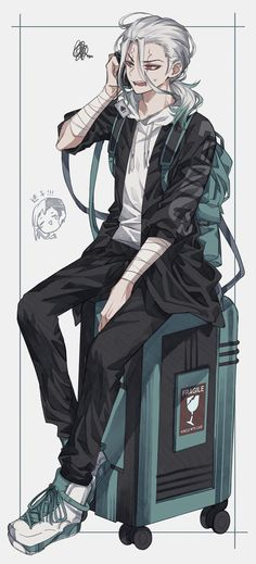 Manga Anime, Art Manga, Anime Art, Cute Anime Boy, I Love Anime, Stone World, Handsome Anime Guys, Anime Kunst, Anime Boyfriend