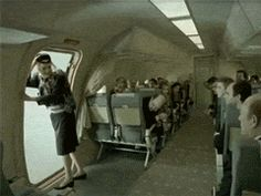 Imagine You're On The Aeroplane And There's That