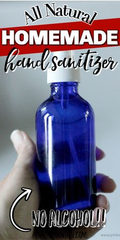 DIY Hand Sanitizer!