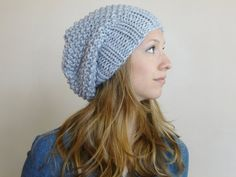 Slouch Beanie ANY COLOR Slouchy Hat Women Hat by BoPeepsBonnets, $32.00