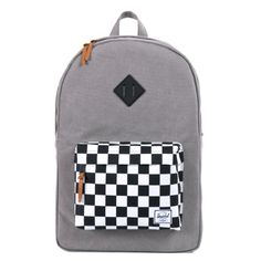 Herschel Supply Co Heritage Canvas Washed BlackCheckerboard One Size * Check out this great product.