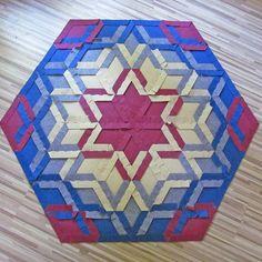 carpet back by caraWonga Math Art, 3 D, Cube, Mandala, Weaving, Flooring, Contemporary, Toys, Carpets