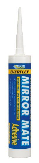 Everbuild MIRROR Mirror Mate Sealant and Adhesive C3