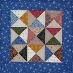 NEW Hourglass Duo Petite Quilts by PetiteQuilts on Etsy