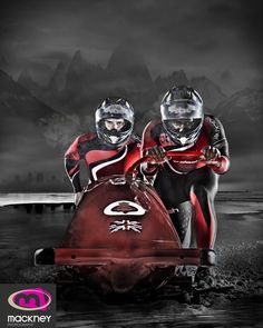 The Great British Bobsleigh Team asked Mackney photography to create edgy images for promotions. Bobsleigh, Team Photography, Great British, Sport Outfits, Olympics, Darth Vader, Photoshoot, Superhero, Sports