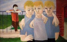 Alienation by Ben Shahn Walker Evans, Social Realism Art, Artist Painting, Painting & Drawing, Art For Change, Ben Shahn, Canadian Art, Canadian Painters, Artwork Images