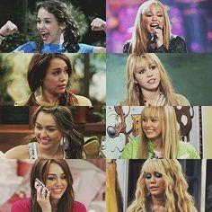 Miley and Hannah. Season 1 - 4
