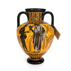 Black-figure amphora - dadart Greek Pottery, Black Figure, Mythical Creatures, Period, Objects, Vase, Magical Creatures, Mythological Creatures, Vases