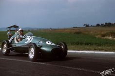 1953 GP Francji (Reims) Cooper Special Mk11 - Alta (Stirling Moss)