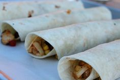 Southwest Chicken Roll-Ups