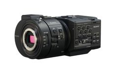 NEX-FS700R  4K Super 35mm Exmor CMOS sensor NXCAM camcorder with E-Mount lens system and 4K/2K RAW recording options