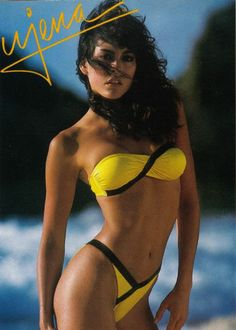 6f1fba67e9 Ujena...the only name in swimwear in the 80 s! I had this