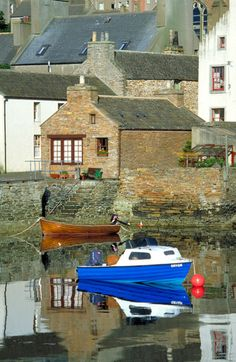How picturesque is this little Orkney Town of Stromness.....