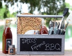 DIY Father's Day BBQ Lover's Gift