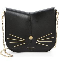 Main Image - Ted Baker London Cat Leather Crossbody Bag #fashiongiftideasstyle