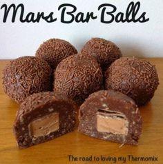 No Bake Mars Bar Balls Recipe