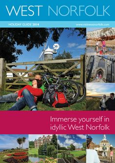 Hit the coast, take in the ocean views and breathe in the sea air. Walk, ride, drive or cycle through gorgeous countryside and vibrant rural towns. West Norfolk boasts some of the most varied things to do in the UK so order the brochure and go explore: http://uktourism.co.uk/west-norfolk-guide/p/002074?affiliate=pinterest