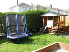 Big house with garden in Bournemouth, Uk. Perfect for children.