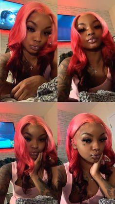 Cute Weave Hairstyles, Baddie Hairstyles, Black Girls Hairstyles, Black Girls Pictures, Sleek Ponytail, Pretty Females, Pretty Black Girls, Hair Laid, Black Girl Aesthetic