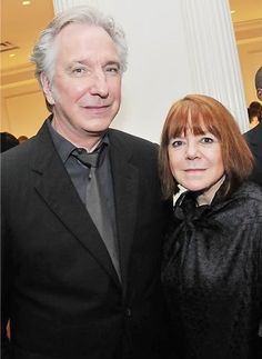 alan rickman and rima horton - Alan Rickman Photo (19389486) - Fanpop