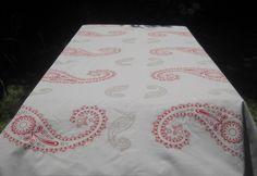 Texturas Urbanas hand screen printed tablecloth