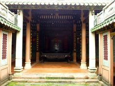 Re-exposure of Jiang's Ancestral Hall 江氏大宗祠  Location: BaoAn District, Shenzhen, China