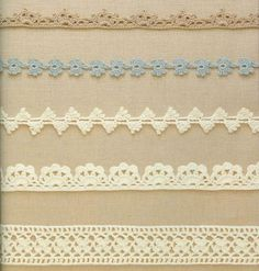crochet edging, lace band