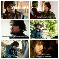 The Musketeers - 1x09 - Knight Takes Queen, Athos