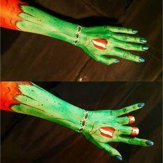 #sfx #specialeffects #horrormakeup #popartzombie #zombie