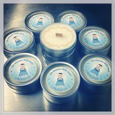 Velas de 2oz para Bautizo, Personalizadas por Aromas Sweet Scents®
