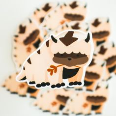 Appa from Avatar the Last Airbender Sticker