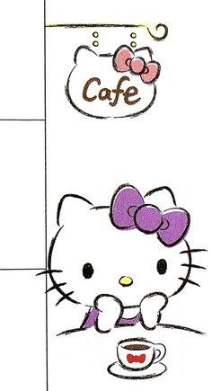 Hello Kitty Theme Party, Hello Kitty Themes, Hello Kitty Pictures, Hello Kitty Backgrounds, Hello Kitty Wallpaper, Kitty Cafe, Fantasy Background, Sanrio Characters, Sanrio Hello Kitty