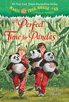 "Zoe loves The Magic Treehouse seres of books. She is especially interested in ""A Perfect Time for Pandas"" (No. 48) but she would like any of them. This one is $3.82 from Amazon etc."