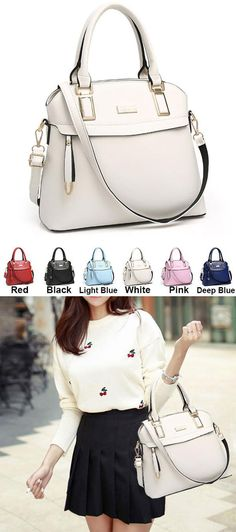 de1b13877b00 Fashion PU Shell Shape Leisure Shoulder Bag Zipper Colorful Women Handbag   pu  shell  leisure  fashion  women  Handbag