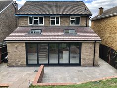 Single Storey - Kitchen Extension in Bromley - SLR Developments House Extension Plans, House Extension Design, Extension Designs, Roof Extension, Extension Ideas, Single Storey Extension, Bungalow Extensions, Garden Room Extensions, House Extensions