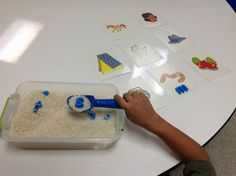 Letter and Number Matching in Rice