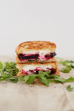 Beet, Arugula, and Goat Cheese Grilled Cheese   30 Delicious Things To Cook In June
